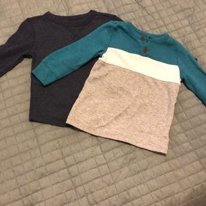 2 pack Old Navy baby boy thermal 12-18 months